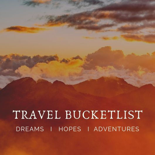 TRAVEL BUCKETLIST