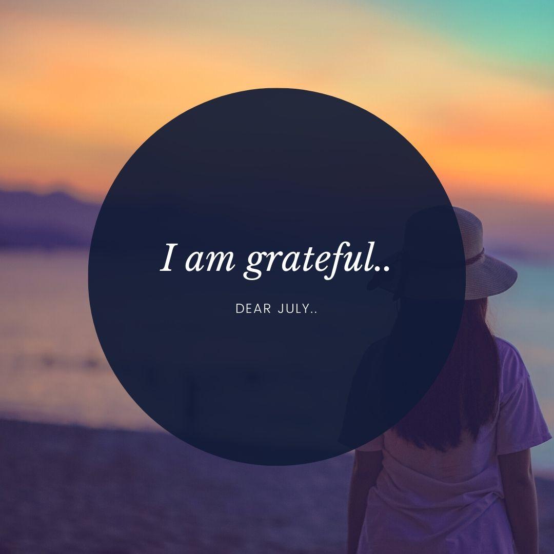 I am grateful..